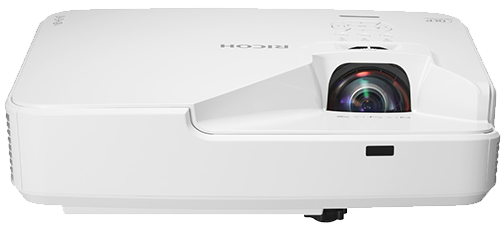 Ricoh digital projector model PJ-WXL4540-10 available at SaraMana Business Products