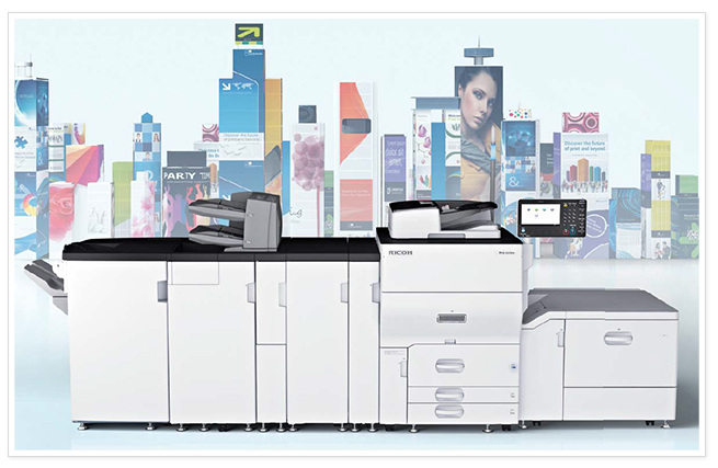 Color Production Systems - SaraMana Business Products Ricoh 5100s 5110s skyline